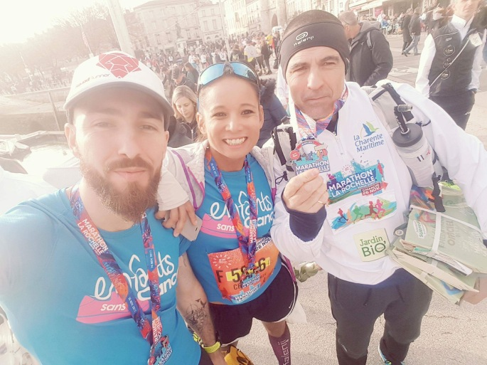 medaille marathon la rochelle 2017 2