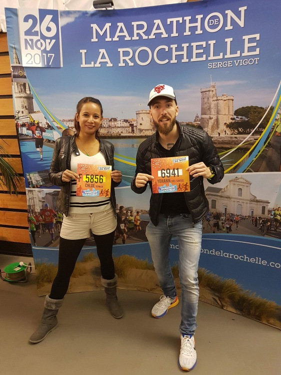retrait dossard marathon la rochelle 2017